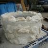 琉球石灰岩の鉢カバー