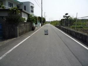 沖縄の珍風景〜サトウキビ積込中〜